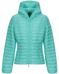 Save The Duck Synthetic Down Jacket - Green
