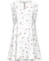Carven Short Dress - White