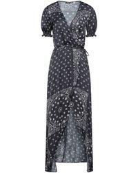 Mc2 Saint Barth Long Dress - Black