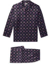 Etro Pyjama - Blau