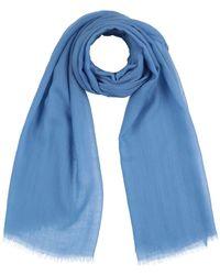 Agnona Stole - Blue