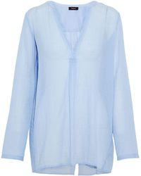 Theory Blouse - Blue