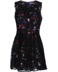 Piccione.piccione Short Dress - Black