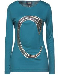 Class Roberto Cavalli T-shirts - Blau
