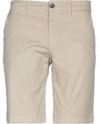 Pepe Jeans Bermuda Shorts - Natural