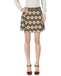 French Trotters - Mini Skirt - Lyst