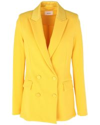 ViCOLO Suit Jacket - Yellow