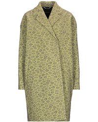 Rochas Overcoat - Green