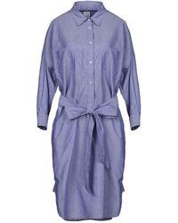 Sara Roka Knee-length Dress - Blue