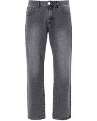 8 by YOOX Pantalon en jean - Gris