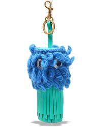 Anya Hindmarch Key Ring - Blue
