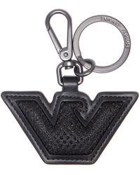Emporio Armani Key Ring - Black