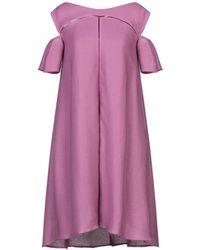 Talbot Runhof Knielanges Kleid - Pink