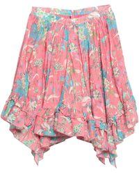 Manoush Knee Length Skirt - Pink