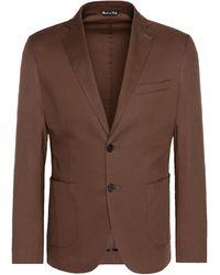 8 by YOOX Suit Jacket - Brown