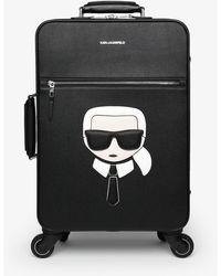 Karl Lagerfeld Wheeled luggage - Black
