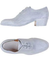Maison Margiela Lace-up Shoe - Grey