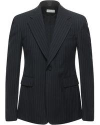 Dries Van Noten Suit Jacket - Blue