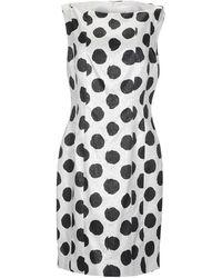 Genny Short Dress - White