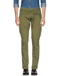 Dondup Casual Trousers - Green