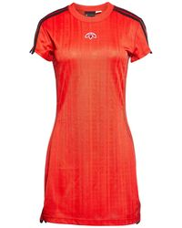 adidas Short Dress - Red