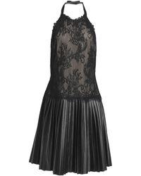 Mikael Aghal Knee-length Dress - Black