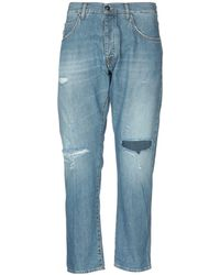 2W2M Pantalones vaqueros - Azul