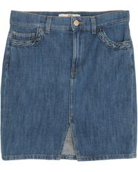 Rinascimento Denim Skirt - Blue