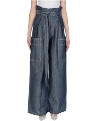 Aviu Denim Trousers - Blue