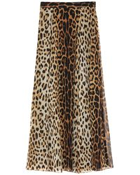 Moschino Long Skirt - Multicolour
