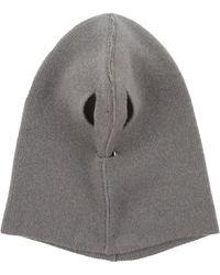 Rick Owens Hat - Grey