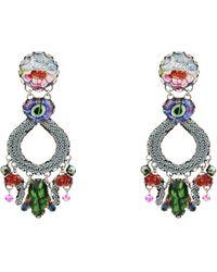 Ayala Bar Earrings - Multicolour