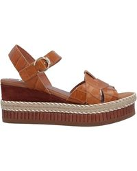 Kanna Sandals - Brown