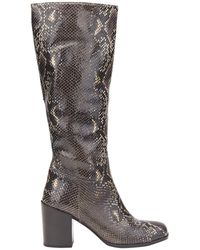 Ottod'Ame Knee Boots - Brown