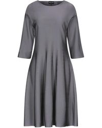 Giorgio Armani Short Dress - Grey