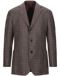 Kiton Suit Jacket - Brown