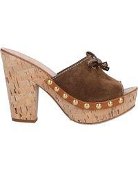 Car Shoe Mules & Clogs - Braun