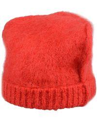 Maison Margiela Hat - Red