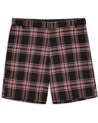 TOPMAN Bermuda Shorts - Black