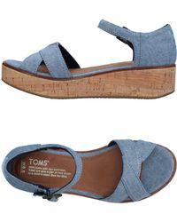 TOMS - Sandals - Lyst