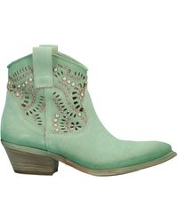 Divine Follie Ankle Boots - Green
