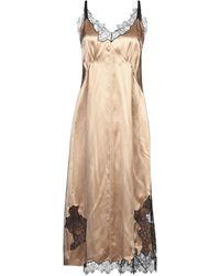 Helmut Lang 3/4 Length Dress - Natural