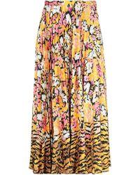 Saloni 3/4 Length Skirt - Yellow