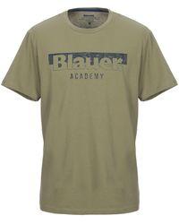 Blauer T-shirt - Green