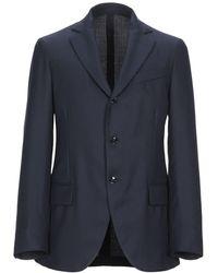 Mp Massimo Piombo Suit Jacket - Blue