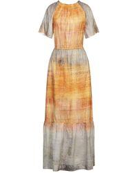 LFDL Vestido largo - Naranja