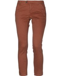 AT.P.CO Trousers - Brown