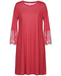 Sun 68 Knee-length Dress - Red