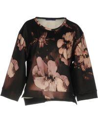 Blue Les Copains Sweatshirts - Black