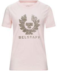 Belstaff T-shirts - Pink